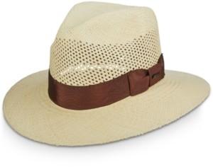Scala Dorfman Pacific Men's Vented Panama Safari Hat