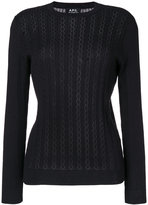 A.P.C. lace knit jumper