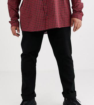 Burton Menswear Big & Tall jeans in black