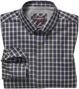 Johnston & Murphy Layered Heather Check Shirt