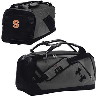 Under Armour Graphite/Black Syracuse Orange Good Performance Backpack Duffel Bag