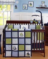 Nautica Zachary 100% Cotton 6-Pc. Crib Bedding Set Bedding