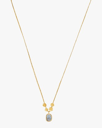 Pippa Small Colette Gold Flower Cluster Pendant Necklace