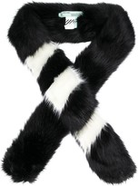 Off-White Off White faux fur scarf