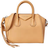 Givenchy Antigona Small Braided Leather Satchel