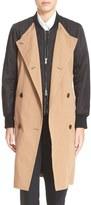 3.1 Phillip Lim Women's Nylon Sleeve Trench Coat