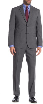 JB Britches Logan Grey Crossbone Two Button Notch Lapel Suit