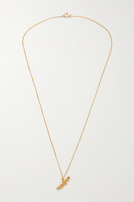 Alighieri The Captured Protection Gold-plated Necklace