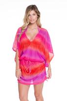 Luli Fama Cabana V-Neck Dress In Multicolor (L497976)