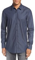 BOSS 'Lukas' Regular Fit Check Sport Shirt