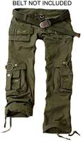 Juicy Trendz Womens Trousers Army Military Ladies Casual Cargo Pants S