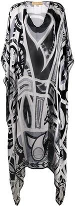 Emilio Pucci Pre-Owned 2000's printed kaftan dress