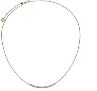 Monica Vinader Skinny Curve Diamond necklace