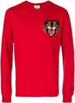 Gucci Angry Cat long sleeve T-shirt