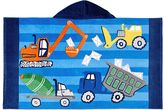 Pottery Barn Kids Classic Construction Beach Wrap