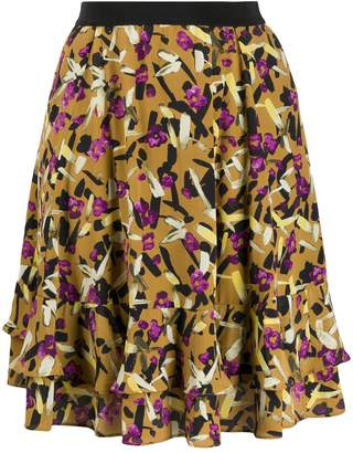 Schumacher Dorothee all-over print skirt