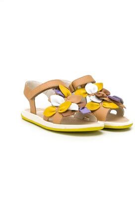 Camper Bicho floral applique sandals