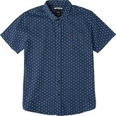 RVCA Men's Toned Short Sleeve Woven Shirt