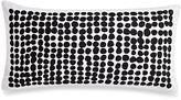 Kate Spade Dot Stamp Oblong Throw Pillow in Black