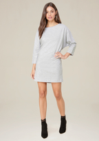 Bebe Dolman Sweatshirt Dress