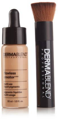 Dermablend Flawless Creator Foundation with Brush - Light 35W