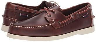 Sebago Dockside Portland Waxed (Brown) Men's Shoes