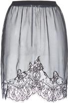 Francesco Scognamiglio Contrast Lace Mini Skirt