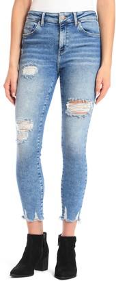 Mavi Jeans Tess High Waist Ripped Skinny Jeans