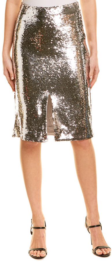 Thumbnail for your product : Ganni Sequin Skirt