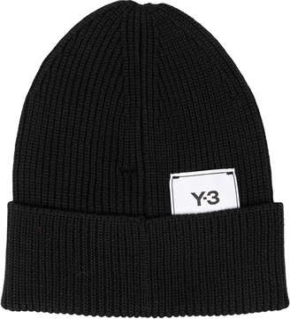 Y-3 Ribbed Knit Hat