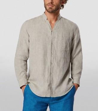 Sease Fish Tail Linen Shirt