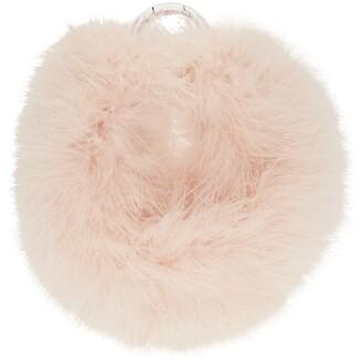 Dries Van Noten Pink Feather Necklace