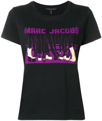 Marc Jacobs shoe print classic T-shirt