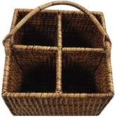 Bloomingdale's The French Chefs Maria Rattan 4-Section Caddy