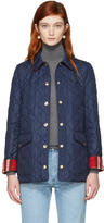 Burberry Navy Westbridge Jacket