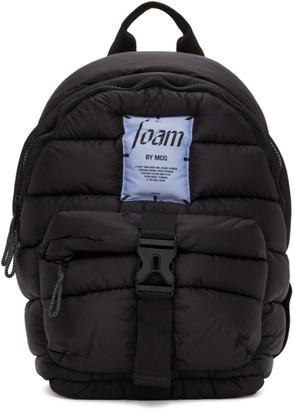 McQ Black Puffer Backpack