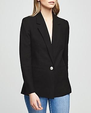 L'Agence Scout Single-Button Blazer
