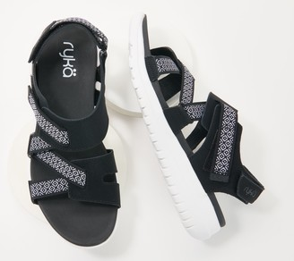 Ryka Adjustable Nylon Sport Sandals - Isora