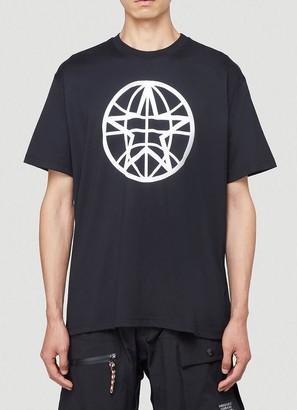 Burberry Globe Graphic Oversized T-Shirt