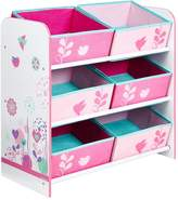 Hello Home Flowers and Birds Kids' Storage Unit by HelloHome