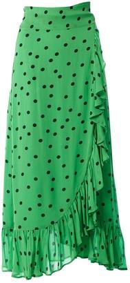 Ganni Green Skirt for Women