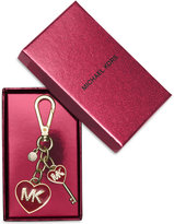 MICHAEL Michael Kors Key Charms MK Enamel Heart Key Chain