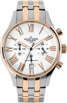 Jacques Lemans Men's Capri Chronograph 1-1605K Stainless Steel IP-Rose Duetone