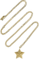 Solange Azagury-Partridge Star Pendant 18-karat gold necklace