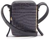 Lutz Morris - Norman Contrast-panel Leather Cross-body Bag - Womens - Navy