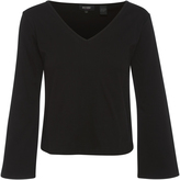 Oxford Rachel Wide Sleeve T-Shirt Blk X
