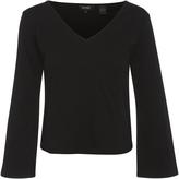 Oxford Rachel Wide Sleeve T-Shirt Blk X