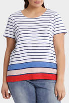 Multi Colour Stripe Short Sleeve Tee