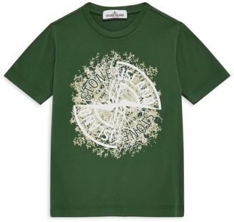 Stone Island Junior Compass Stamp T-Shirt (4-14 Years)