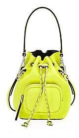 Fendi Women's Mini Mon Tresor Leather Bucket Bag